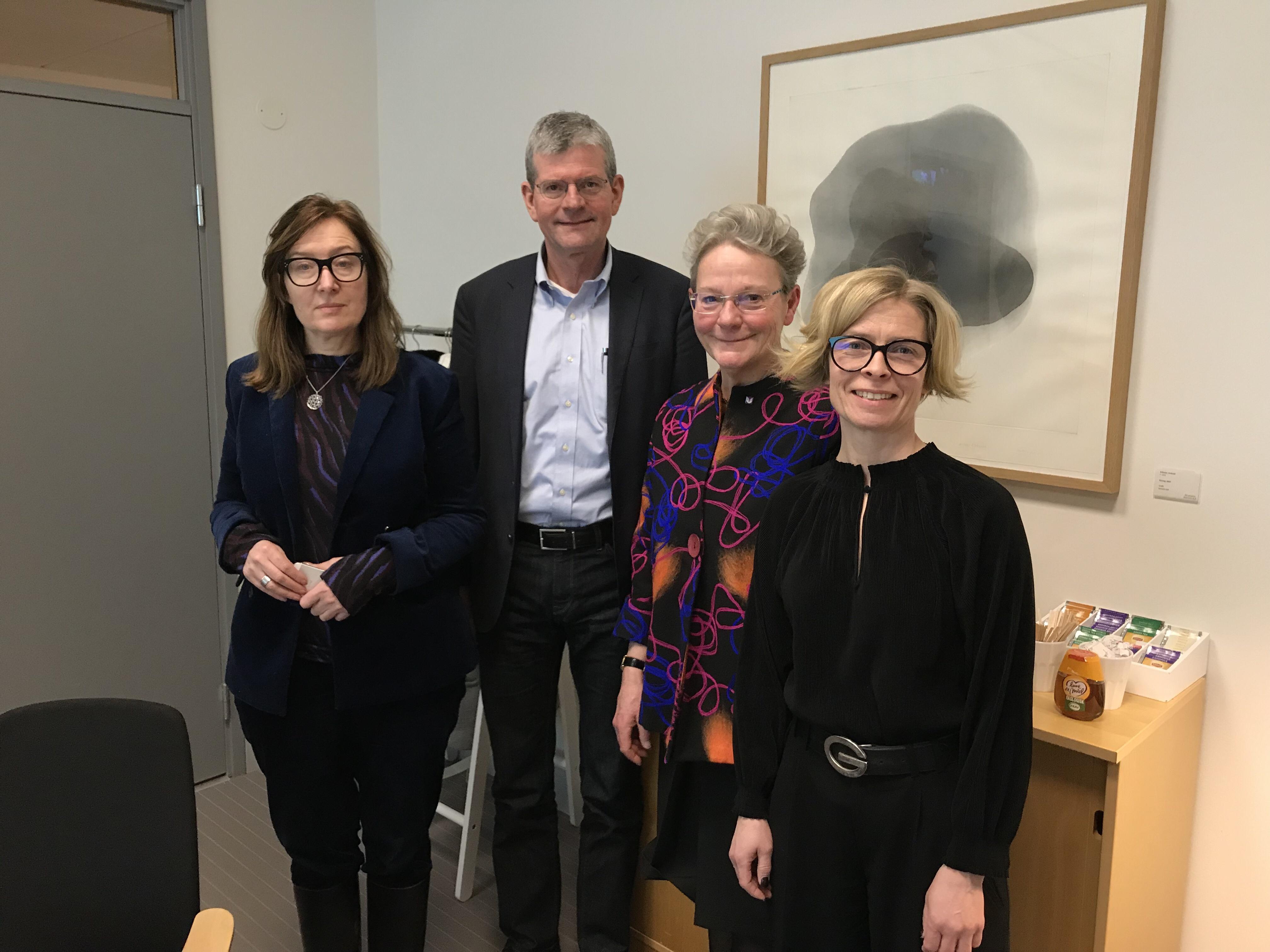 Sara Arrhenius, Håkan Pihl, Karin Röding, Birgitta Bergvall-Kåreborn
