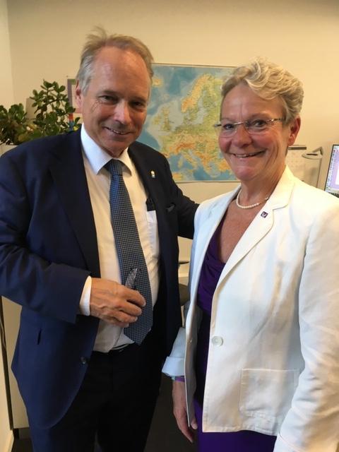 Anders Flanking och Karin Röding